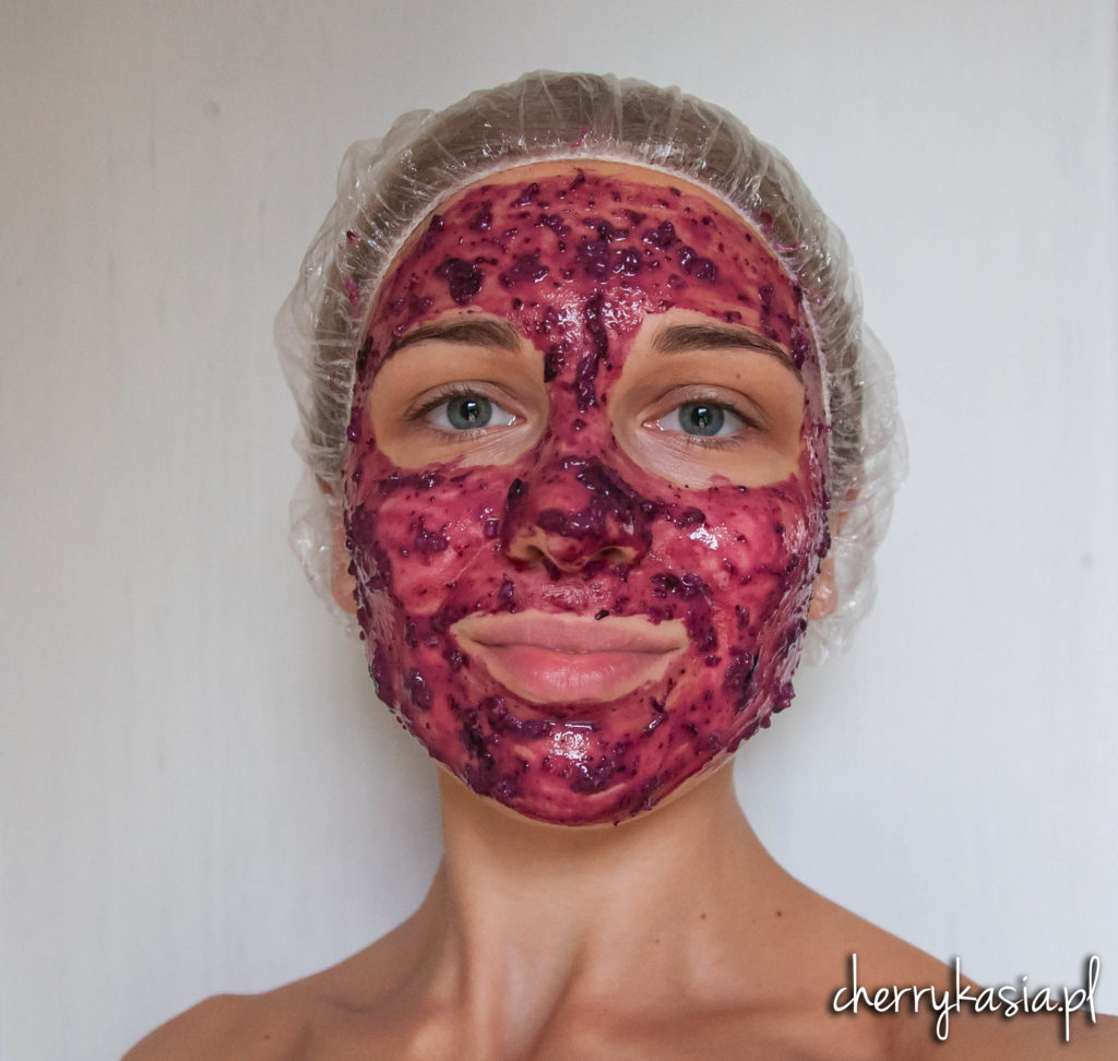 borówkowa maska